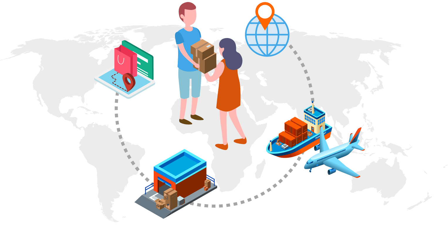 Multiple eCommerce Logistic Services